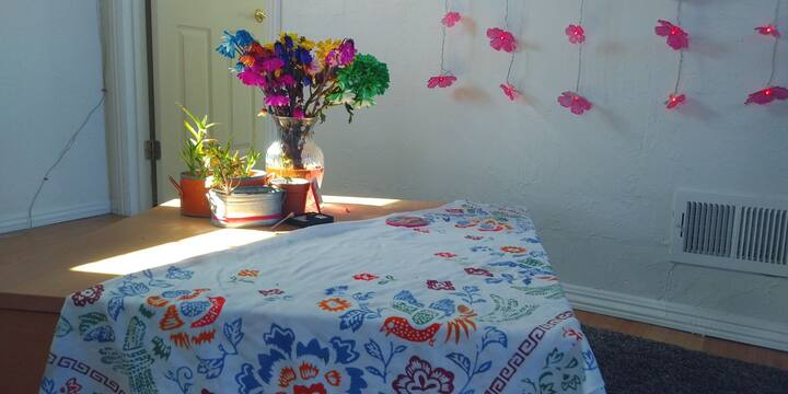 Serene Room in Musical Home