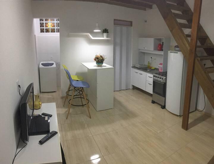 Confortável apartamento loft