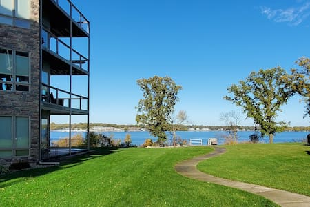 Beautiful condo on East Lake Okoboji!