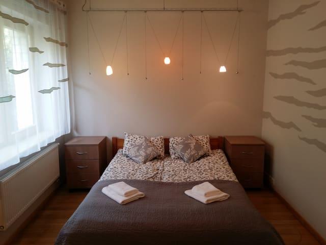 Standard double room at Villa Evergreen