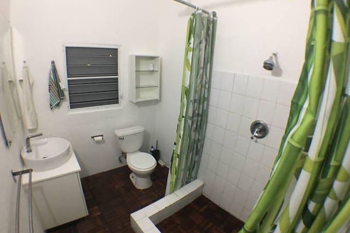 Your bathroom has all the basic needs