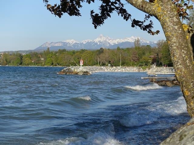 Coeur de village au bord du lac - Anthy-sur-Léman - Byt