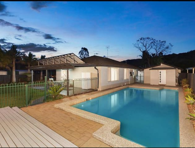 Beautiful 4 bedroom home with swimming pool