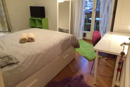 Chambre avec balcon privé - Losanna