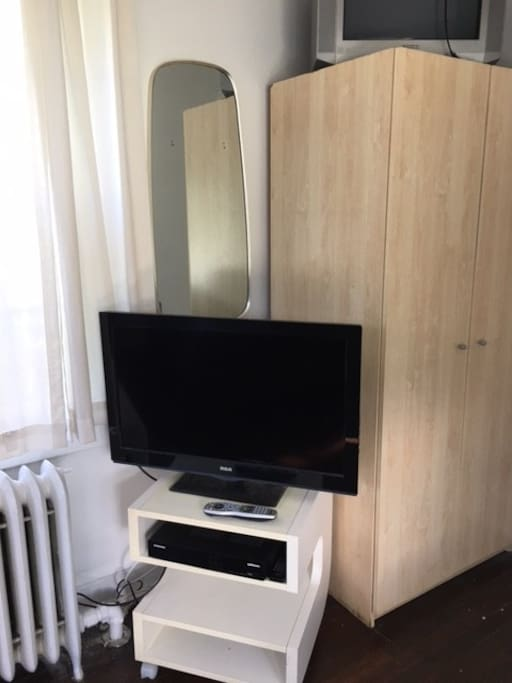 TV and Armoire