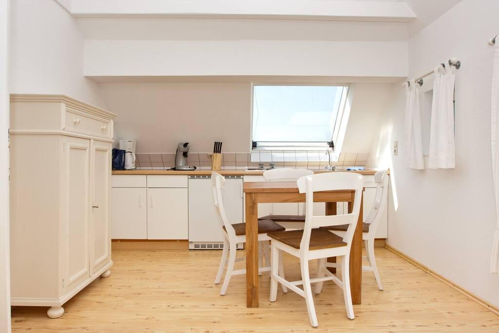 Der Küchen- und Essbereich