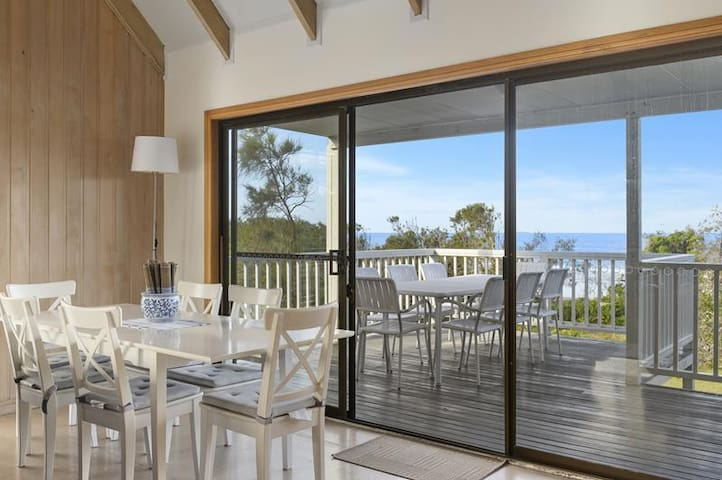 Uninterrupted ocean views, beach at your back door