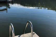 Dock ladder