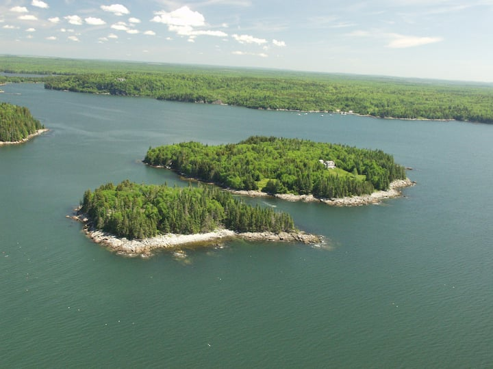 Downeast Private Island off the Maine Coast