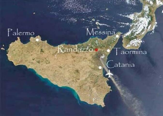 sicily,sea,etna,biking,good food!!! - Randazzo - Hus