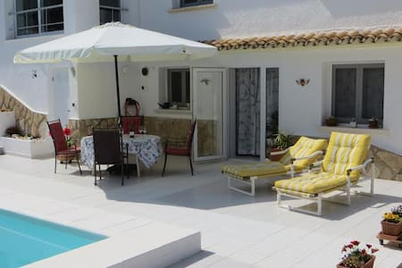 Moraira spacious apartment with private pool - Benissa - Apartament
