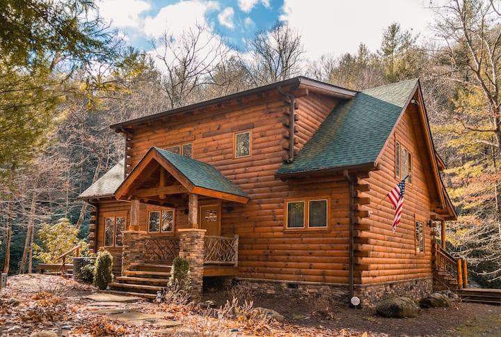 Whitewater Mountain Log Cabin