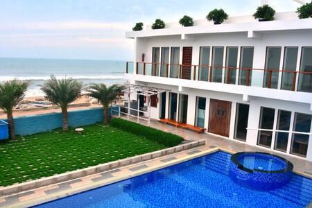Beach Facing Family Room in Umino Beach Resort