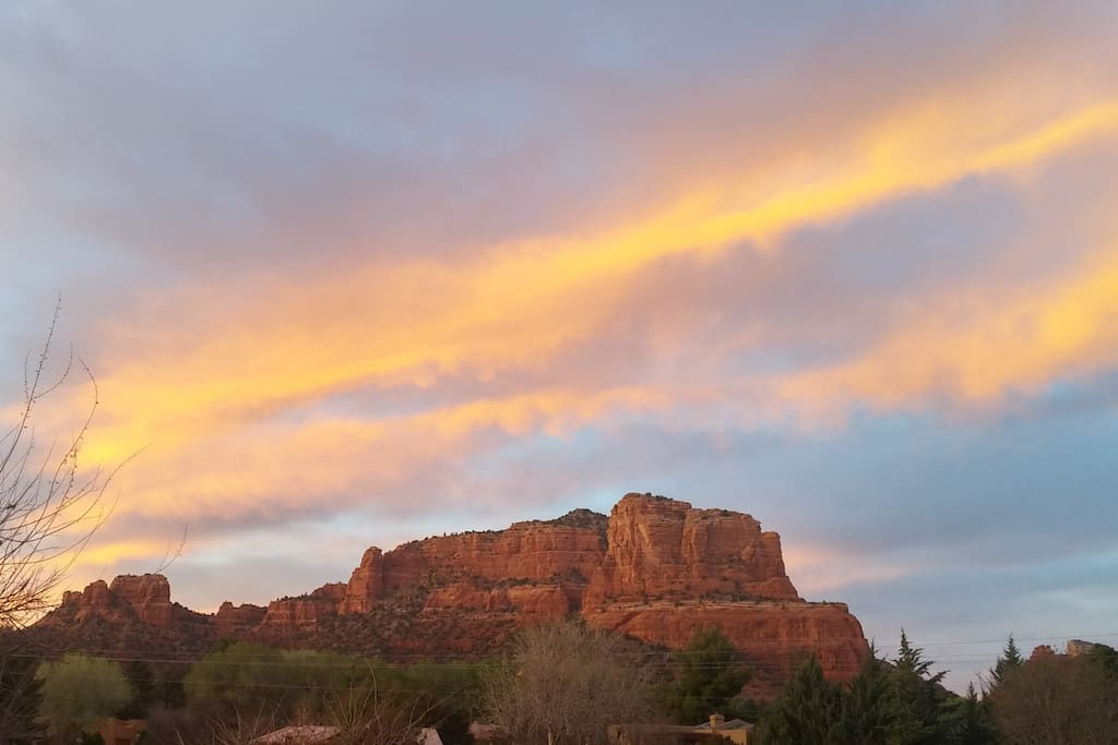 Cathedral Rock from Back Patio