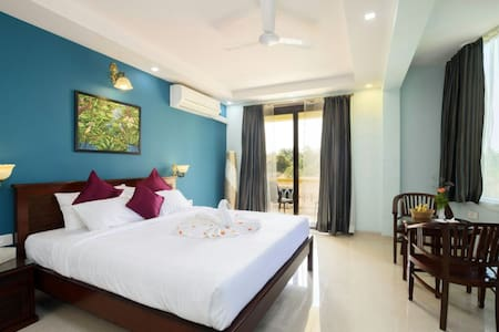 Premium Sea View Room @ Majorda Beach - Majorda - Boutique-hotelli