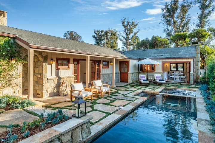 Luxurious Montecito home with pool & mountain views!