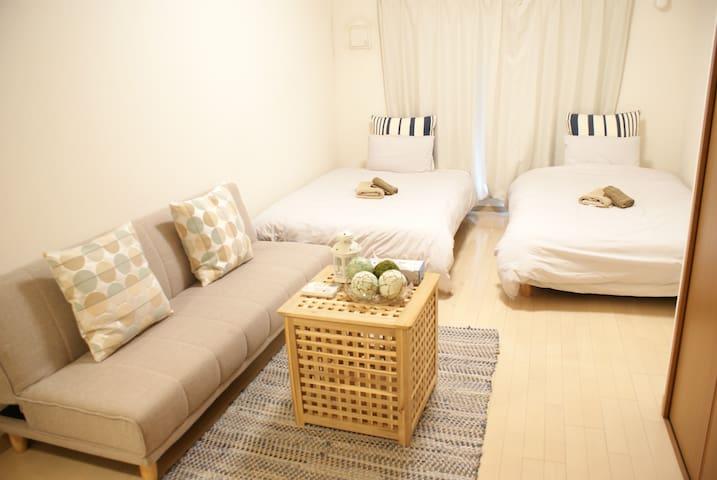 Osaka Namba new Room 4mins to station+Free WIFI