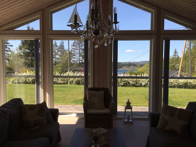 Beautiful property close to beaches - Sande i Vestfold - Casa