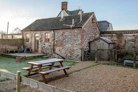 Cosy Somerset Annexe with a view, for 1-4 guests