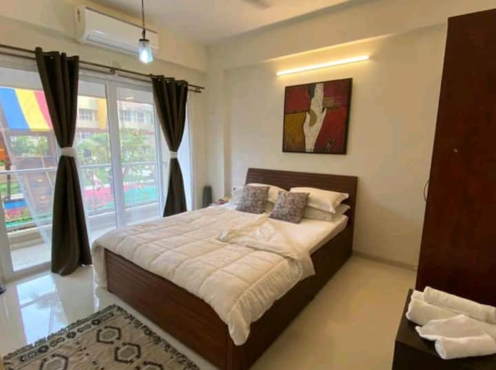 Luxury 1BHK at Anjuna with a pool :)