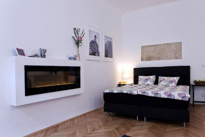 Prague Center Apt. with Fireplace - Praha