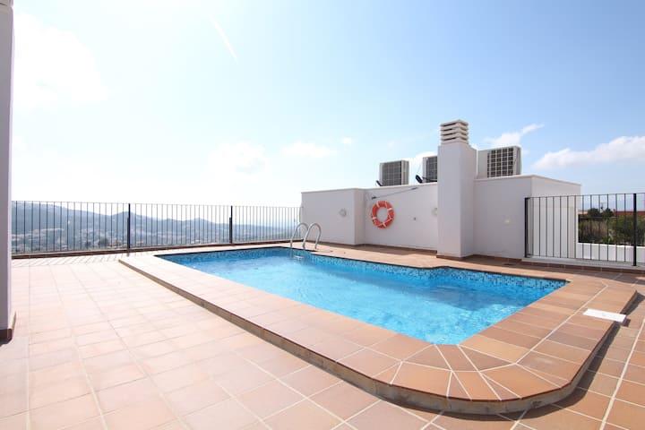 Appartement met Zeezicht en klein Zwembad 2