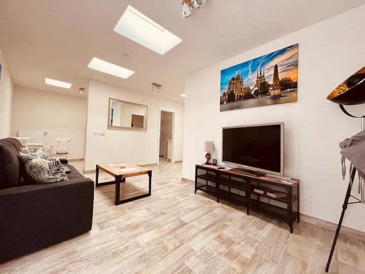 Haus zum Rosenstock Anbau Wohnung Nr.1 40qm