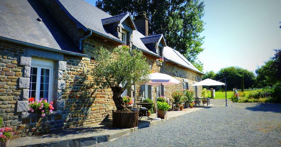 B&B hôtel au Franc Mont St Michel/Plages débarquem - Fleury - Aamiaismajoitus