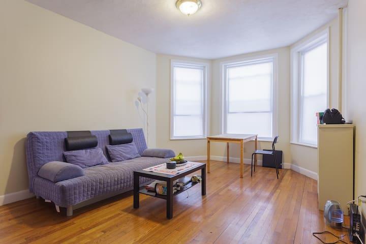 Central Private Room in Allston by subway - Boston - Apartamento