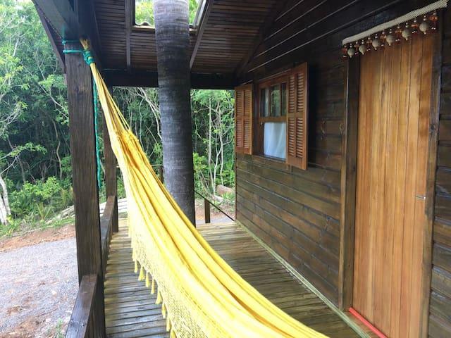 Casa do Guru - Cabana em meio a natureza