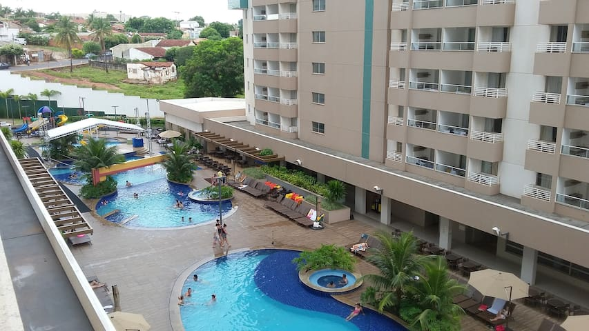 Apartamento Inteiro - Enjoy Olímpia Park Resort