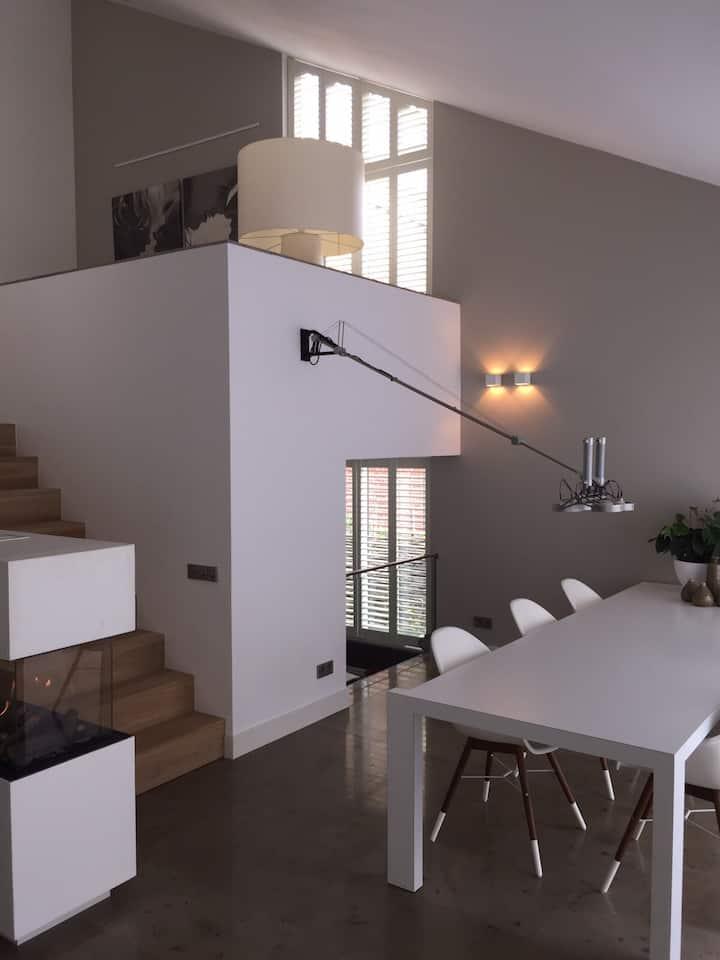 Luxe en modern huis dichtbij Arnhem