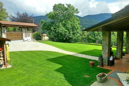 Italia: cozy room near the lake and the Swiss - Marchirolo - Villa