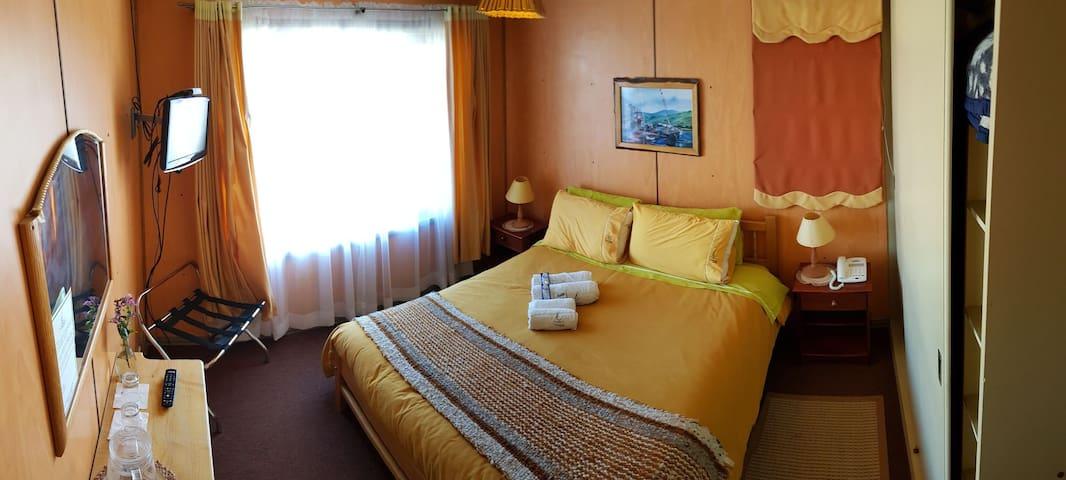 Hotel Yatehue, dpto hasta 7 pax, Queilen - Chiloé