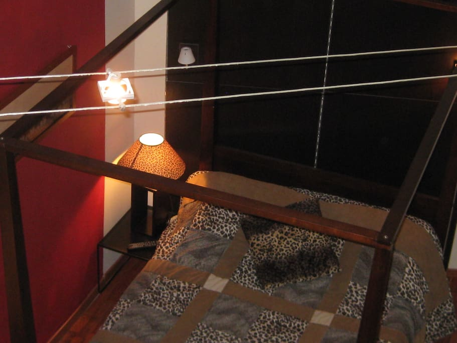 La chambre en duplex