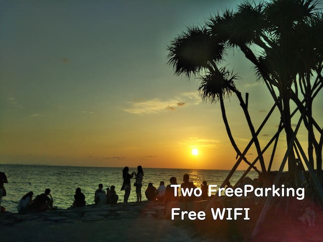 世界遺産と自然が豊かなロケーション、沖縄中部うるま市!ファミリー、多人数グループに最適。