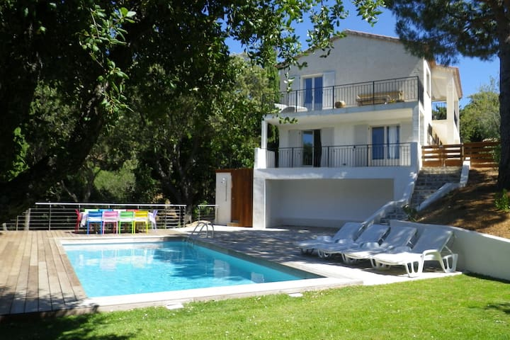 Villa with private pool in La Croix-Valmer, close to Saint-Tropez