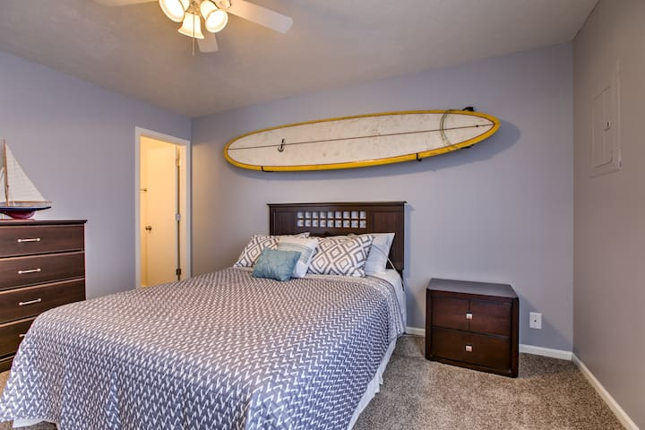 That board isn't just a prop... it still has some sand on it from Zuma Beach last summer!