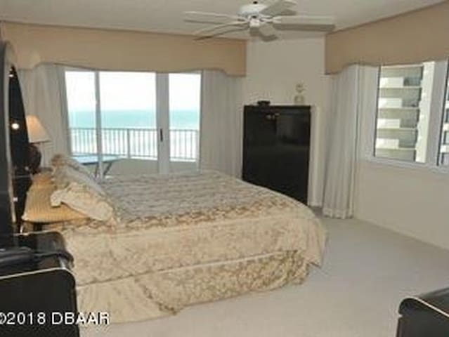 Gorgeous Master Bedroom with Balcony & Ocean View