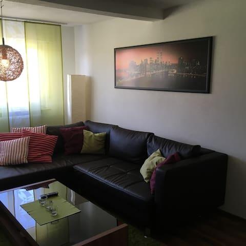 2-Zimmer Wohnung mit toller Aussicht