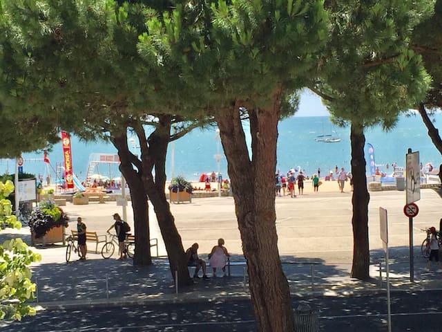 Belle villa face mer et plage, piscine privée