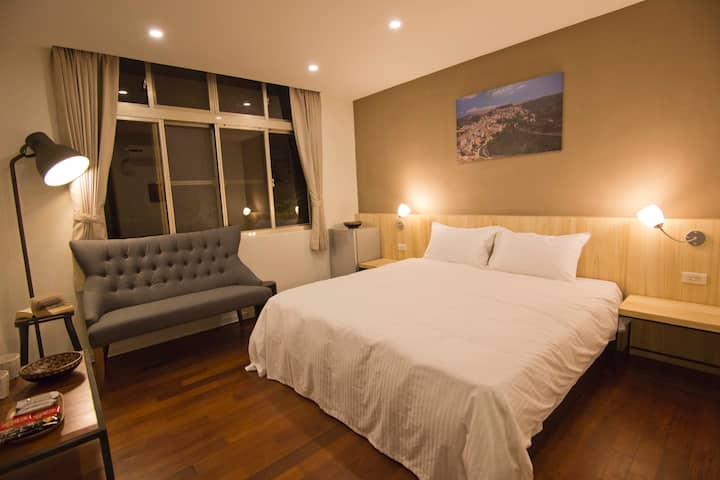 【Ximen Asakusa】Double Room (3F)(queen size bed)