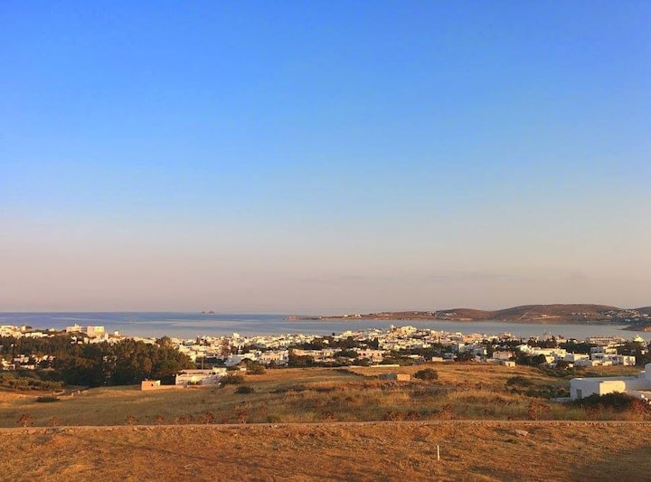 House on Paros, pool and a great view