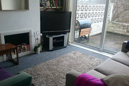 Great sofa bed in lovely bright flat - Bristol