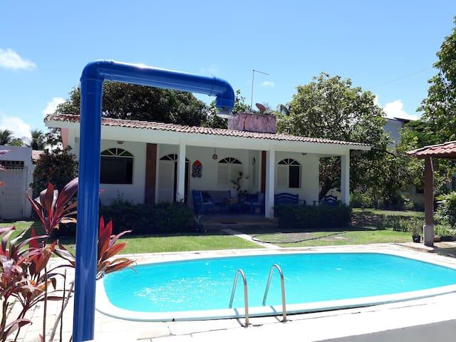 Casa Pé na Praia de Serrambi (Porto de Galinhas)
