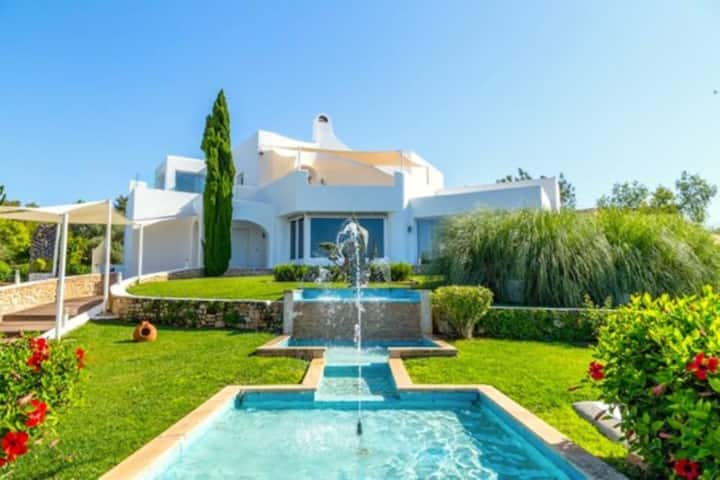 Luxurious Villa Can Flowers with Sea & Mountain View, Wi-Fi, Garden & Terrace; Parking Available