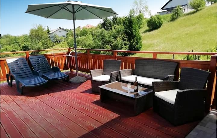 Awesome home in Vrhovac with WiFi and 1 Bedrooms