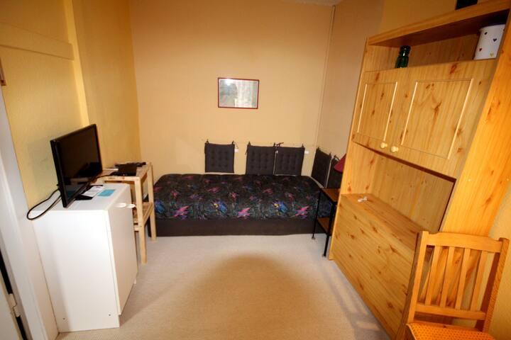 Ruhiges Zimmer mitten im Zentrum