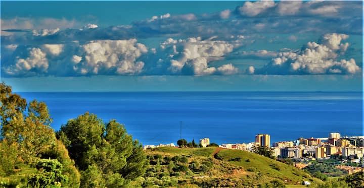 Villa Vesta 1500m2 Mijas Fuengirola vistas al mar