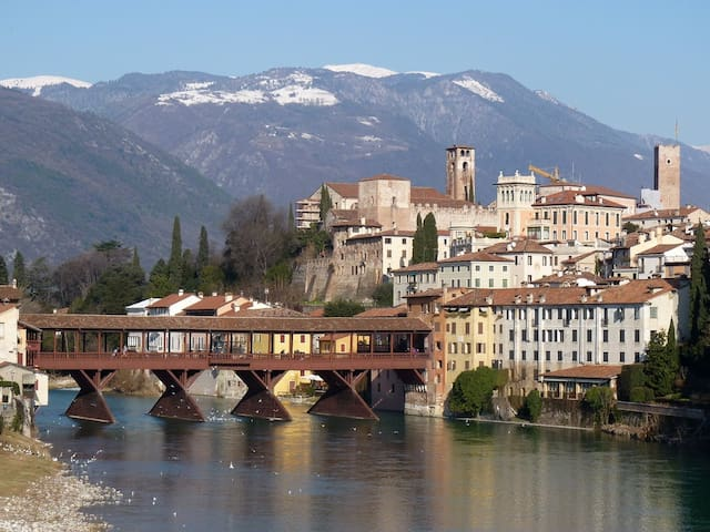 Bassano Up, between history  and nature in Veneto